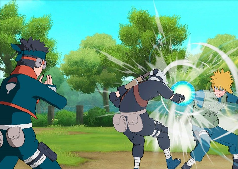 New Screens for Naruto Shippuden: Ultimate Ninja Storm Generations