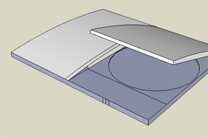 PS3 Super Slim (CECH-4000) Concept Shows Top Loading Design