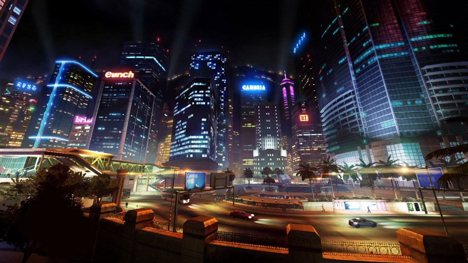 Sleeping Dogs Cityscape
