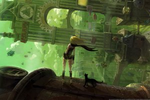 Returning To The Skies In Gravity Rush Remastered On PS4