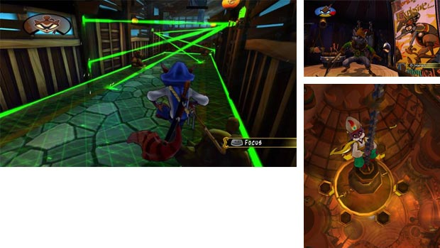 sly cooper screenshot
