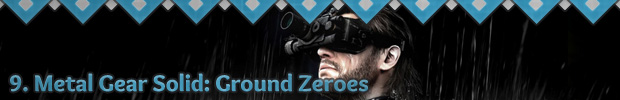 9. Metal Gear Solid: Ground Zeroes