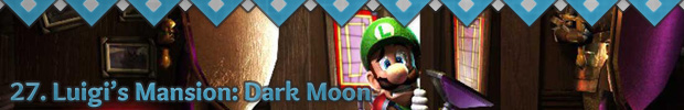 27. Luigi's Mansion: Dark Moon
