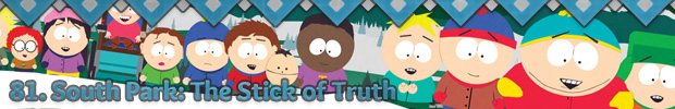 81. South Park: The Stick of Truth