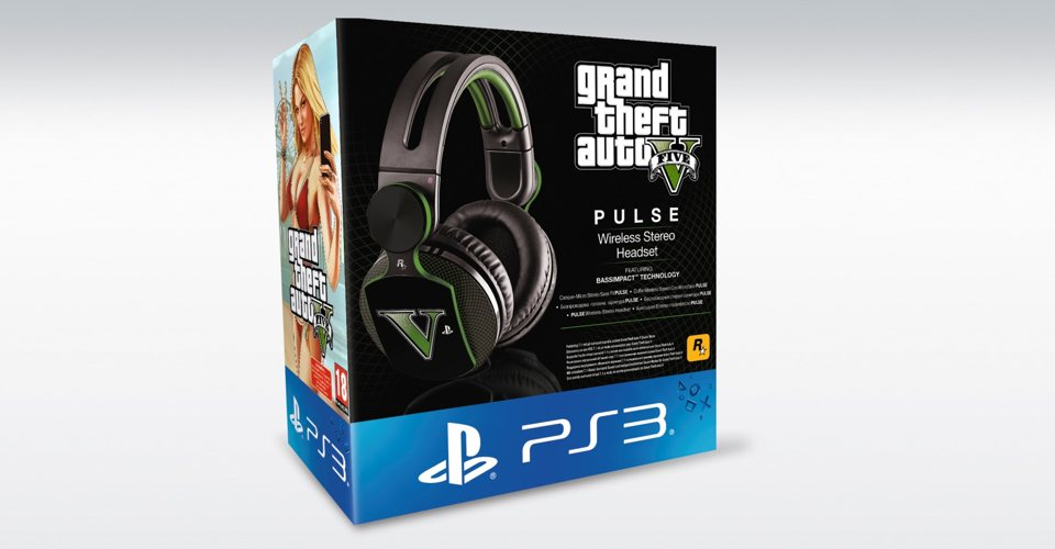 GTA V Edition PS3 Pulse Headset Available Now – TheSixthAxis