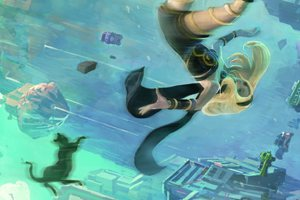 Gravity Rush Remastered Listed For PlayStation 4