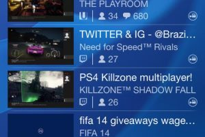 PlayStation Mobile App Updated, Now Includes Live Video Streams
