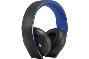 Gold-Wireless-Headset