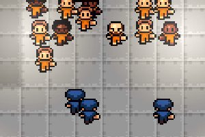 Breaking Out From Behind Bars In The Escapists