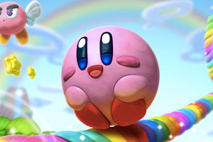 Kirby And The Rainbow Curse Colouring The Wii U In 2015