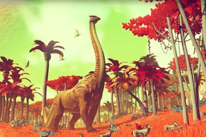 Crafting The Endless Cosmos Of No Man's Sky