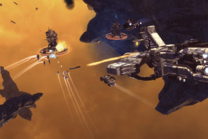 Ancient Space Launches For PC, Channels That Homeworld Vibe