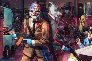 Payday 2 Is Getting Hotline Miami DLC On September 30th