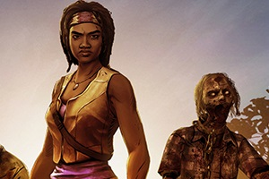 Take A First Look At Michonne In The Walking Dead