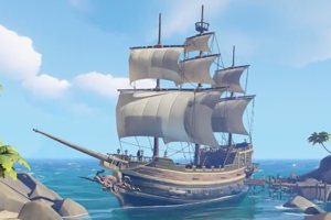 Microsoft's Sea Of Thieves Treasure Hunt Is (Golden) Bananas