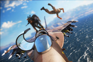 New Just Cause 3 Trailer With Added Interactive Chaos