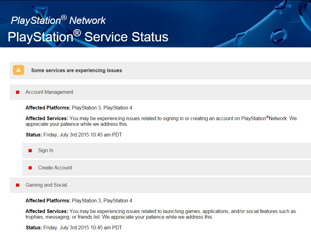 UPDATE] The PSN Is Now (Allegedly) Back Up And Running After