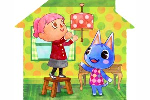 Room Dressing And Scene Setting In Animal Crossing: Happy Homes Designer