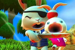 Blast 'Em Bunnies Hops On To Consoles On March 9th