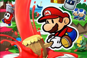 Bring Colour Back To Paper Mario: Color Splash For Wii U This October
