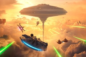 No Han's Sky: Playing Star Wars Battlefront's Bespin Expansion