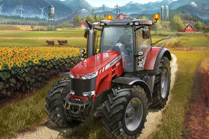 Combine And Harvest In The Farming Simulator 17 Launch Trailer