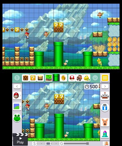 Super Mario Maker For Nintendo 3DS Review – TheSixthAxis