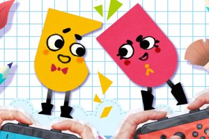 Snipperclips - Cut It Out, Together! Is An Early Gem For The Nintendo Switch