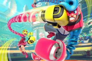Nintendo Announce Fighting Game ARMS For Switch