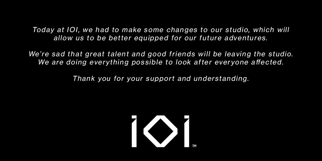 Hitman studio IO Interactive cuts down on staff