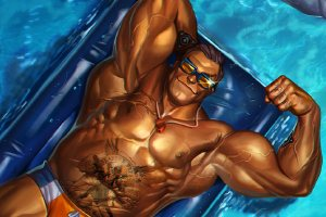 Get Those Summer Vibe In Heroes Of The Storm's Sun's Out, Guns Out Event