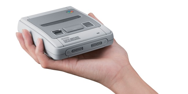 Super Nintendo gets the miniature console treatment