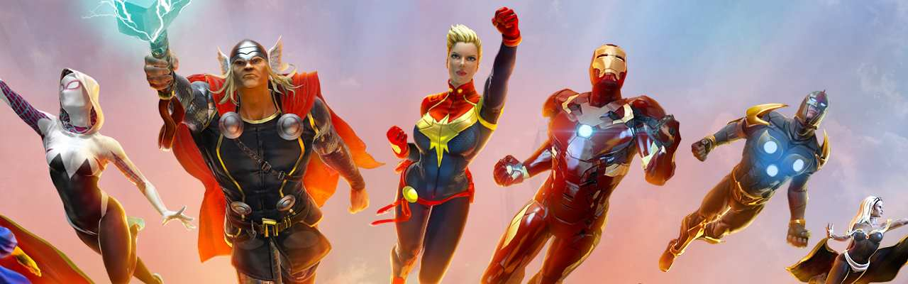 Competition: Win Over £150 Of Marvel Heroes Omega Goodies On PS4