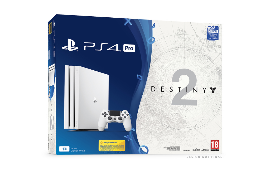 Sony Unveils Destiny 2 Bundle With White PS4 Pro