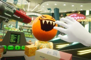 Supermarket Sweep Meets Fruit Ninja In Shooty Fruity For PSVR