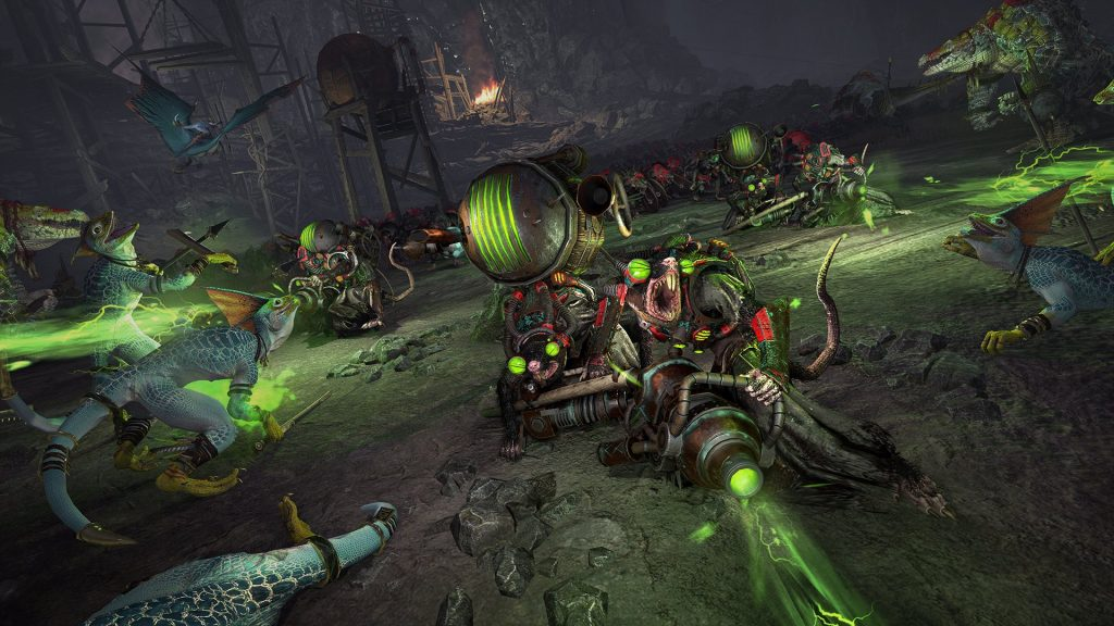 Total War: Warhammer II adds a new race, Slippery Skaven