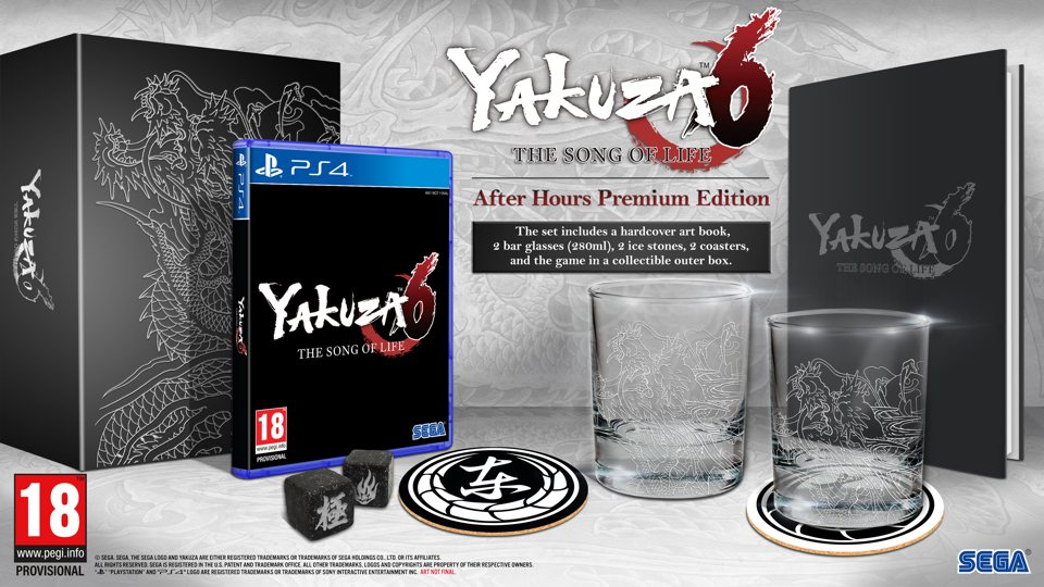 Yakuza 6 is coming to Europe on March 20 next year