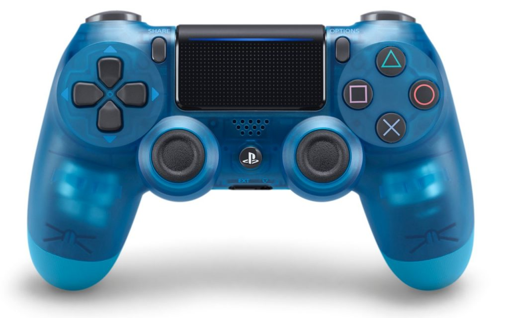 Introducing the Crystal Dualshock 4 wireless controller range
