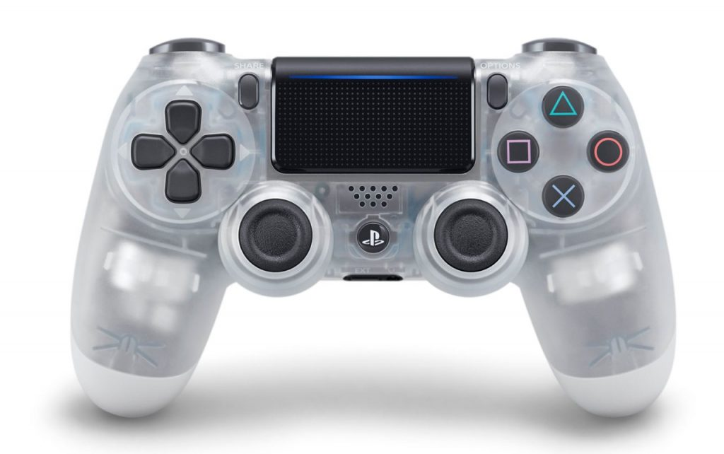 Three new Crystal Dualshock controllers revealed