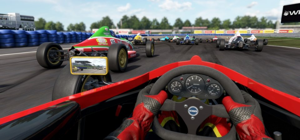 Strangely Enough Racing With A Controller Does Actually Feel Bit More Authentic To The Games Sim Its Just That Particularly Raw