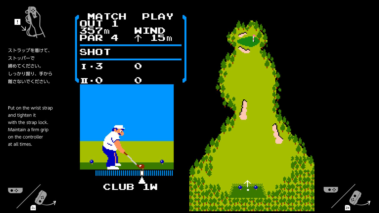 Hidden NES Golf in Switch Consoles Unlocks via a Bittersweet Tribute