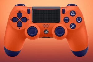 A Sunset Orange DualShock 4 Will Be Available From November 14th, But Not In The UK