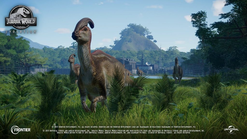 Here's our First Look at Jurassic World Evolution