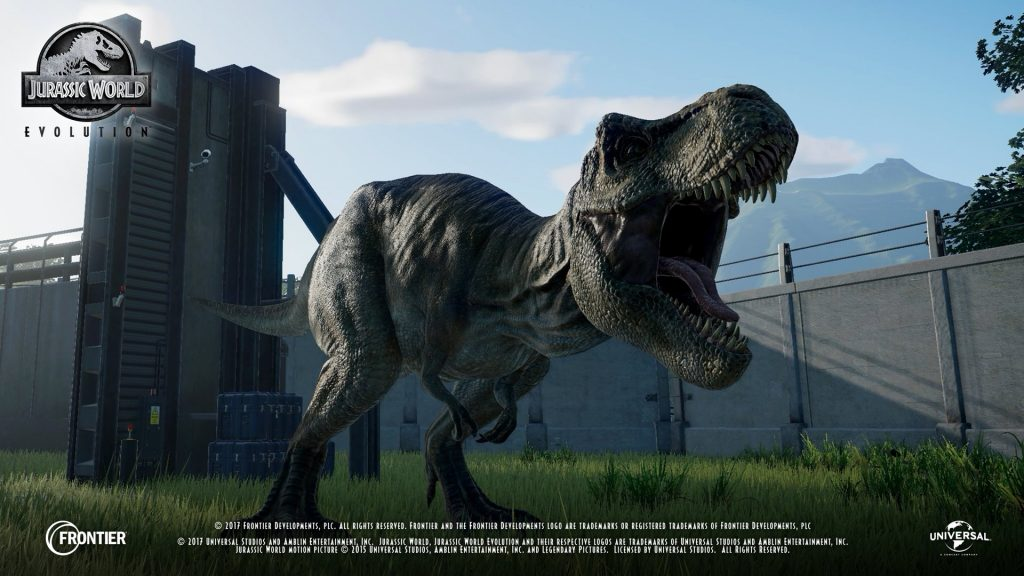 First in-game footage revealed for Jurassic World Evolution
