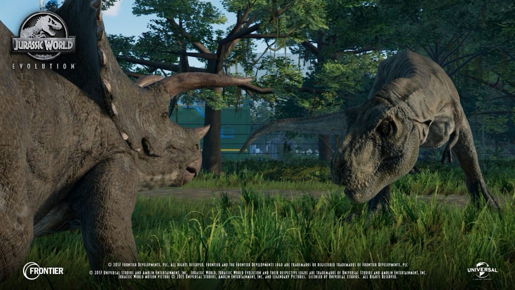 Jurassic World Evolution gets first in-game footage class=