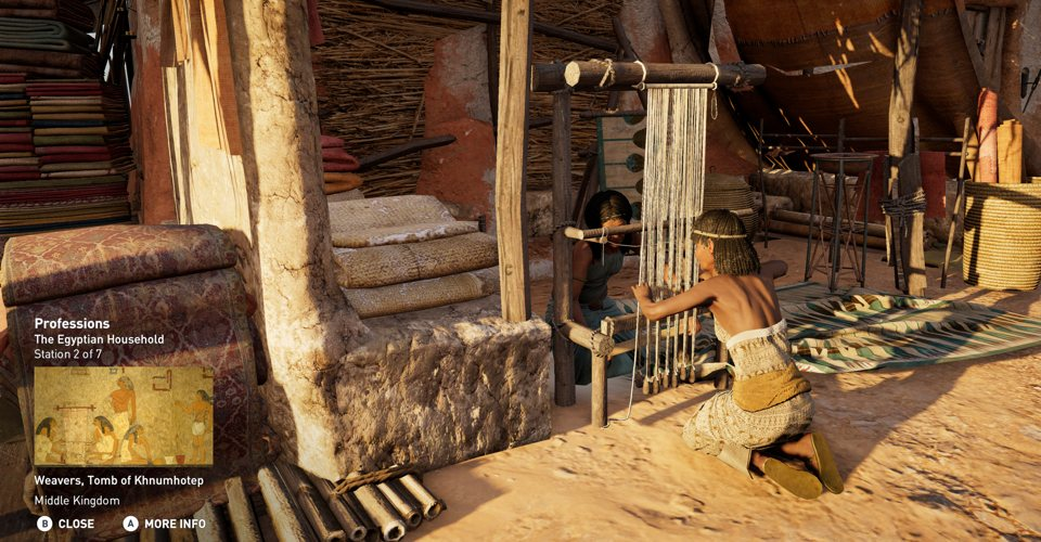 Assassin's Creed Origins' Combat-Free Educational Mode Will Include 75 Guided Tours
