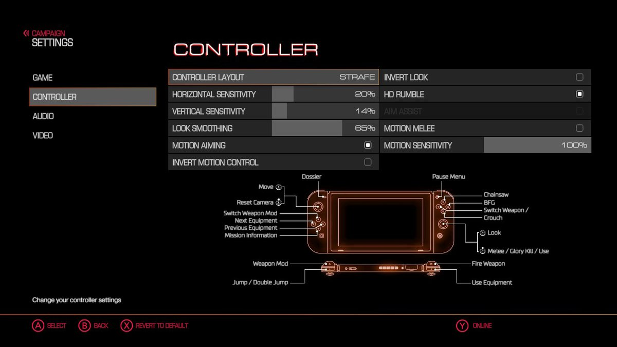 DOOM On Nintendo Switch Just Got Motion Controls