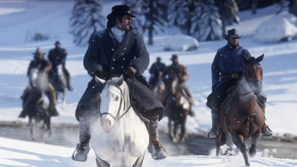 Battle Royale in Red Dead Redemption 2