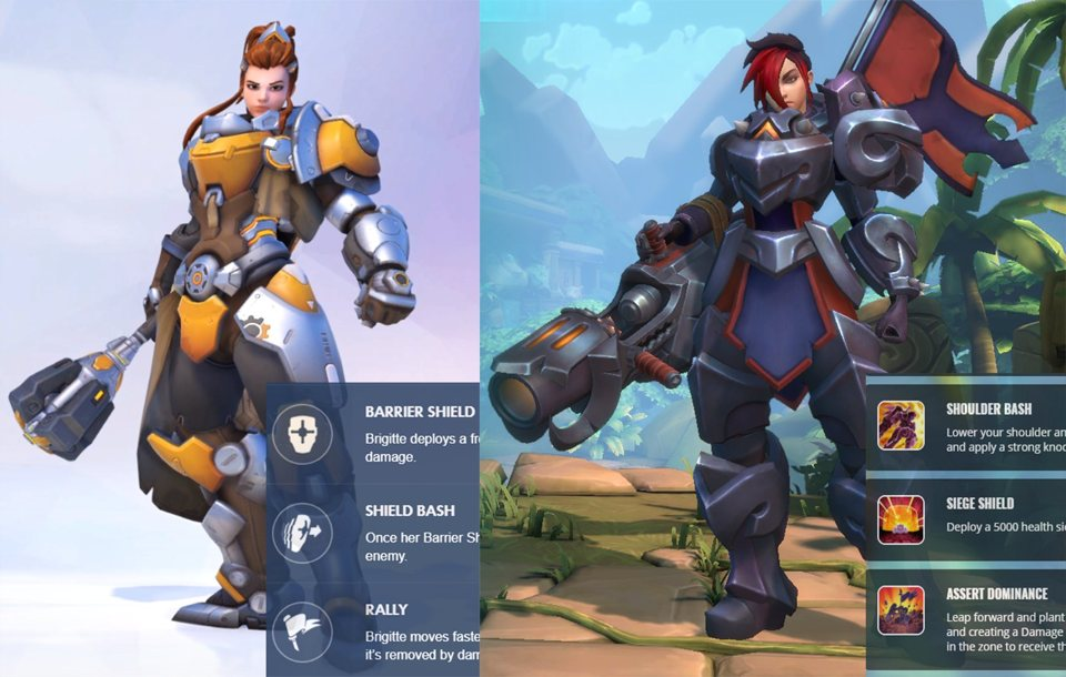 Overwatch New Hero Brigitte: Skins & Abilities