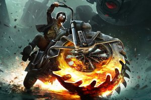 Fighting An Alien Invasion On Two Wheels In Steel Rats